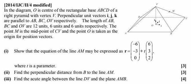 2014/IJC/II/4 Vectors H2 Math Tuition Singapore A-level