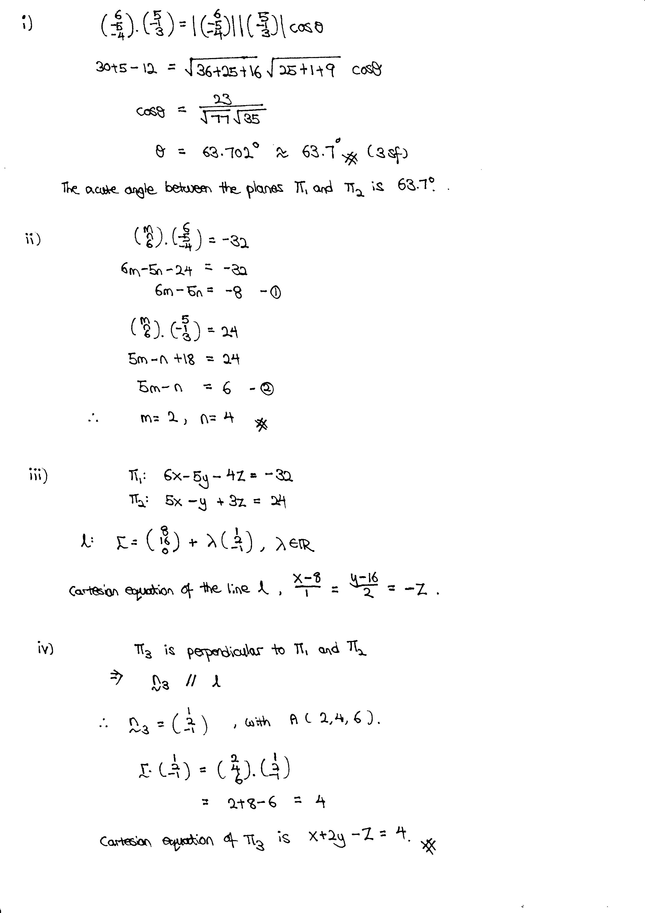 H2 Math Tuition Vectors Solution